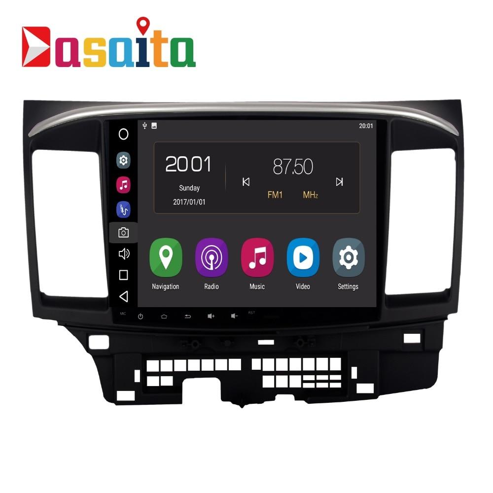 Android 8.0 Voiture Radio 2 Din Pour Mitsubishi Lancer/X/10 Multimédia Radio 2 Din octa-core 4 gb RAM 32 gb ROM Navigation PX5