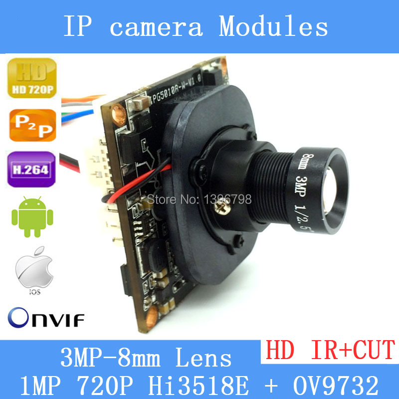 1/4 720P IP Camera Onvif P2P 1280 * 720P HD upgrade IP Cam HI3518E + OV9732 IR Outdoor Platices CCTV Security System with audio hot 1 4 onvif 720p ip camera p2p 1280 720p hd ip cam hi3518e ov9712 ir indoor abs plastic cctv security serveillance