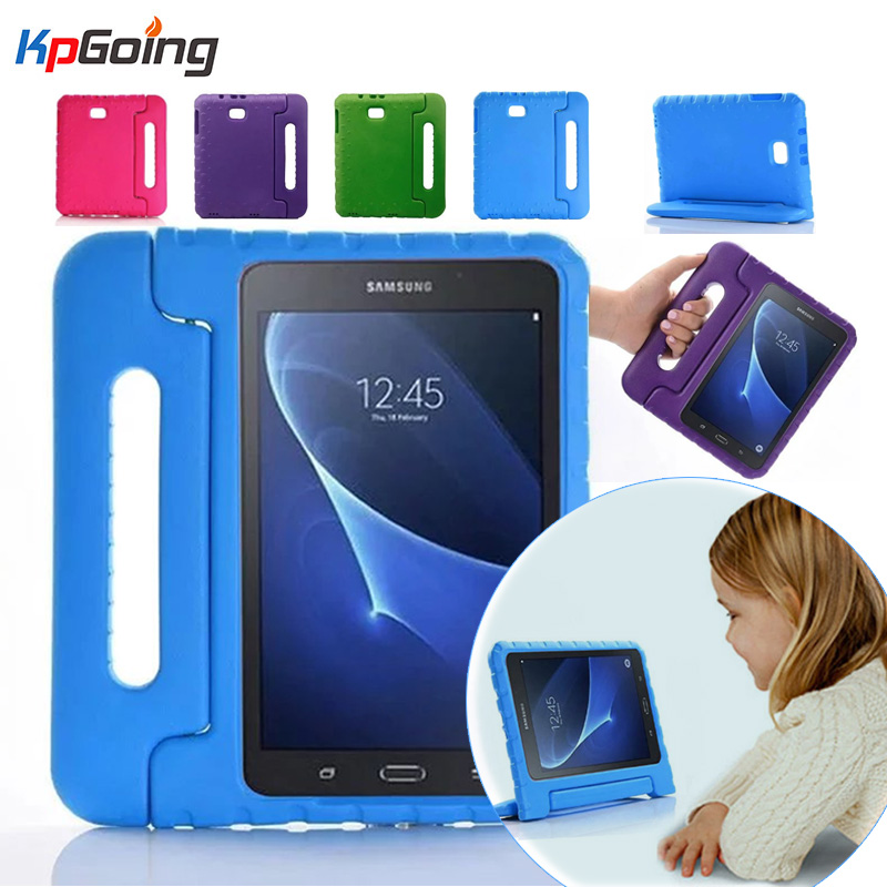 For Samsung Galaxy Tab A 10.1'' A6 T580N T585C Kids Protective Stand Case SM-T580/585 2016 EVA Drop Shockproof Portable Cover enkay butterfly pattern protective case w stand for samsung galaxy tab 3 lite t110 multicolor