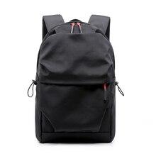 Waterproof Nylon men Backpack Portable Fashion Travel Backpacks Zipper Soild Back Pack Daily Traveling computer school backpacks