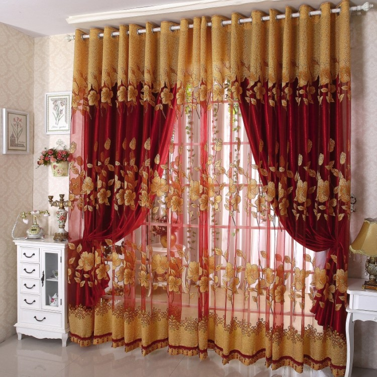Discount Curtain Panel Stylish Living Room Curtains Window .