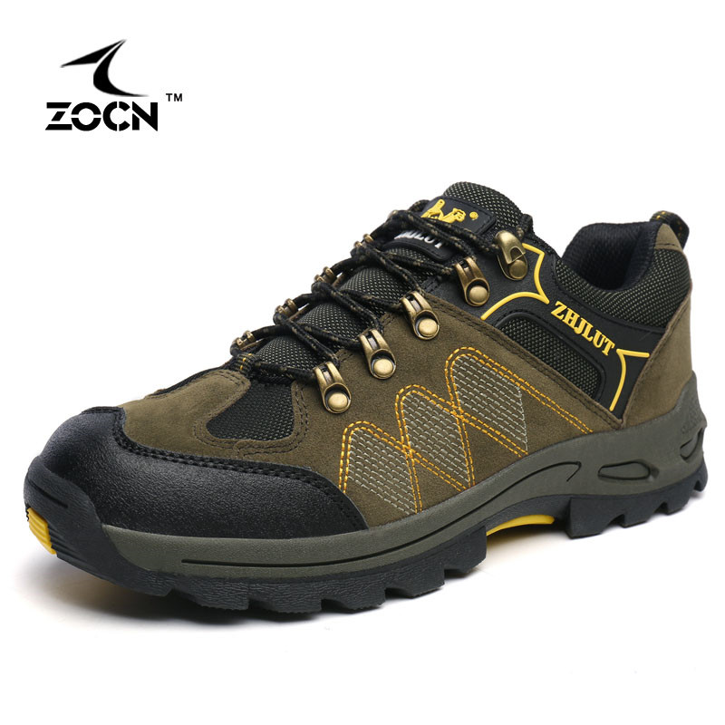 ФОТО ZOCN Hiking Shoes High Quality Fashion 2016 Autumn Women Boots Military Boots Unisex Zapatos Hombre Women Ankle Boots
