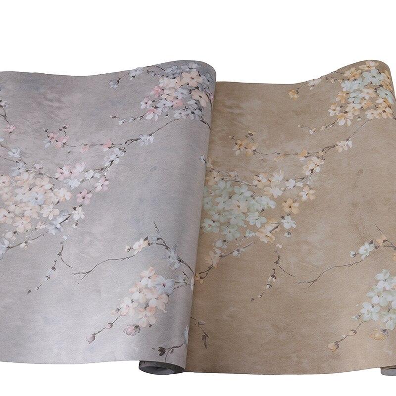 Купить с кэшбэком PAYSOTA High-grade Non-woven Three-dimensional Flower Wallpaper Bedroom Simple Living Room TV Background Wall Paper Roll