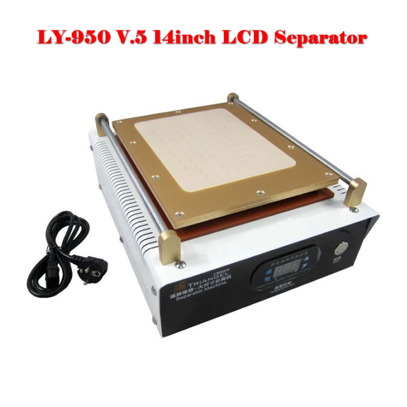 цены LY 950 V.5 LCD Separating Machine with Built-in reinforced air pump for i pad and mobile,vacuum LCD separator built-in USB