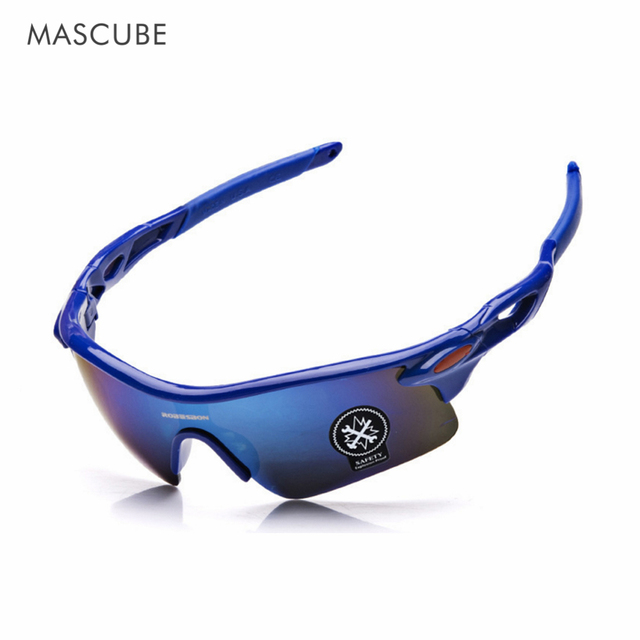 MASCUBE Men Women Cycling Glasses Outdoor Sport Mountain Bike MTB Bicycle Glasses Motorcycle Sunglasses Eyewear Oculos Ciclismo