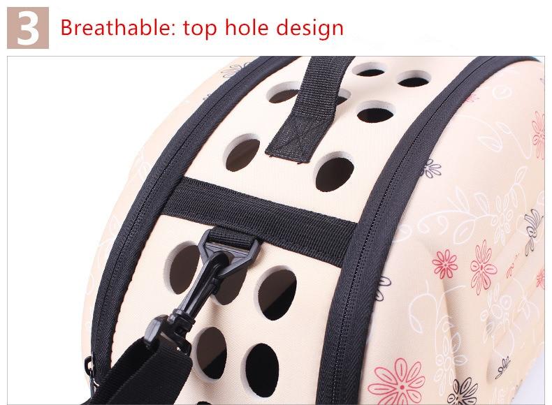 Outdoor Dog Carrier Backpack Saddle Bag 9