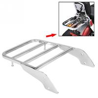 Motorcycle Rear Luggage Rack for Sissy Bar for Honda Shadow VT750 C2 1997 1998 1999 2000 2001 2002 2003 Chrome Silver