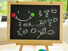 Preschool portable three pillars of small magnetic table infant child Sketchpad WordPad sided blackboard