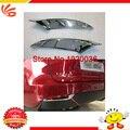 Car styling ABS Chrome Rear Fog Light Lamp Cover Trims for LEXUS NX tail fog light cover trim Rear fog lamp cover