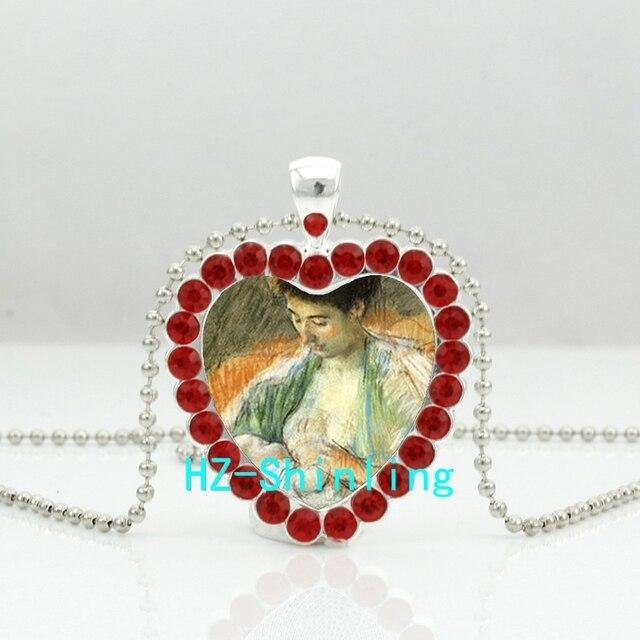60% de réduction nouvelle collection nouveau style de € 0.9 38% de réduction|HZShinling mère allaitant son bébé cristal collier  allaitement coeur pendentif bijoux cristal pendentif Vintage collier HZ6 ...