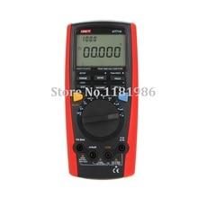 UNI-T UT71A Professional Intelligent Auto Range LCD True RMS Digital Multimeter AC/DC Voltmeter Ammeter Ohmmeter Hz USB REL