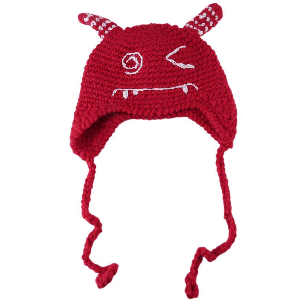 Cute Baby Hats Newborn Baby Beanie Warm Winter Hat For Baby Girls Boys Knitted Kids Hats for 1-4 years old Child