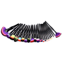 New 22pcs Pro Professional Makeup Brushes Set High Quality Foundation Powder Brush Tool D30de8