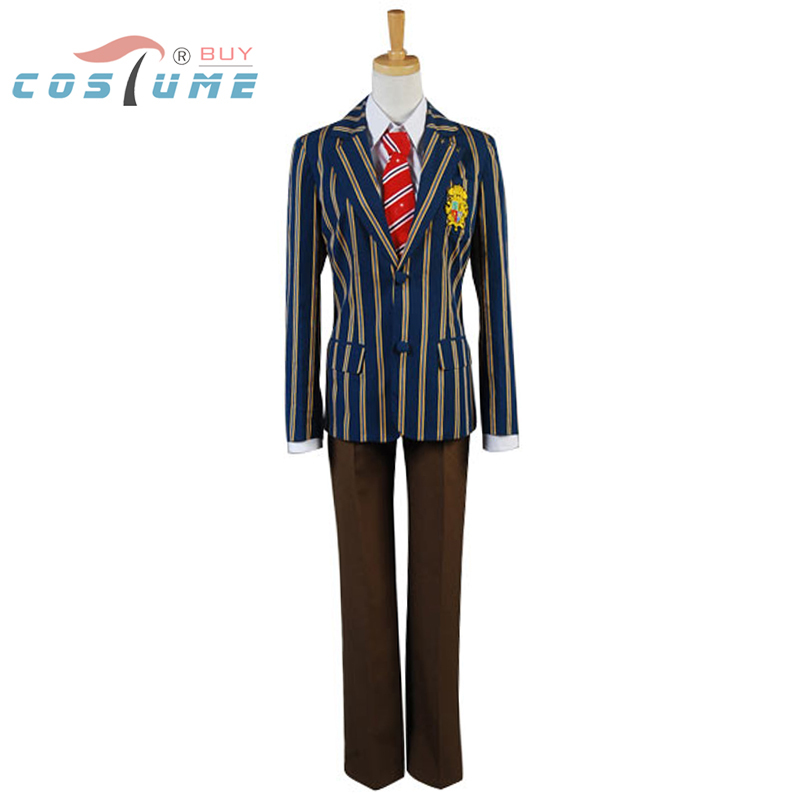 1d4d73e794 Uta no prince-sama Klasy S Chłopiec Uczeń Jednolite Halloween Kostiumy  Cosplay Custom Made