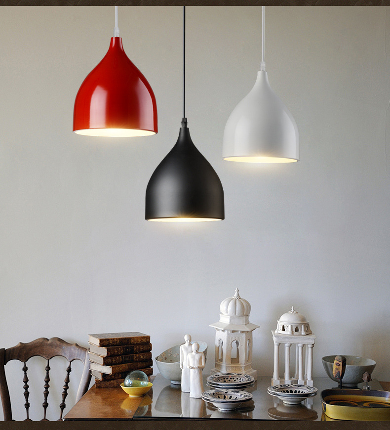 Modern Minimalist Industrial Style Lamps And Lanterns Creative Personality Lamps And Lanterns Bar Restaurant Clothing Store A188 creative personality electroplating apple glass lamps and lanterns of restaurant contemporary single head bar led lamps