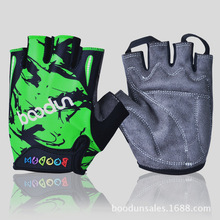 Summer Half Finger Cycling Gloves Kids Skate Sports Riding BMX Road Mountain Bike MTB Bicycle for Boys and Girls Child