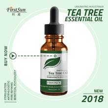 Tea tree essential oil moisturizing massage control fade acne seal balance water shrink pore repair skin