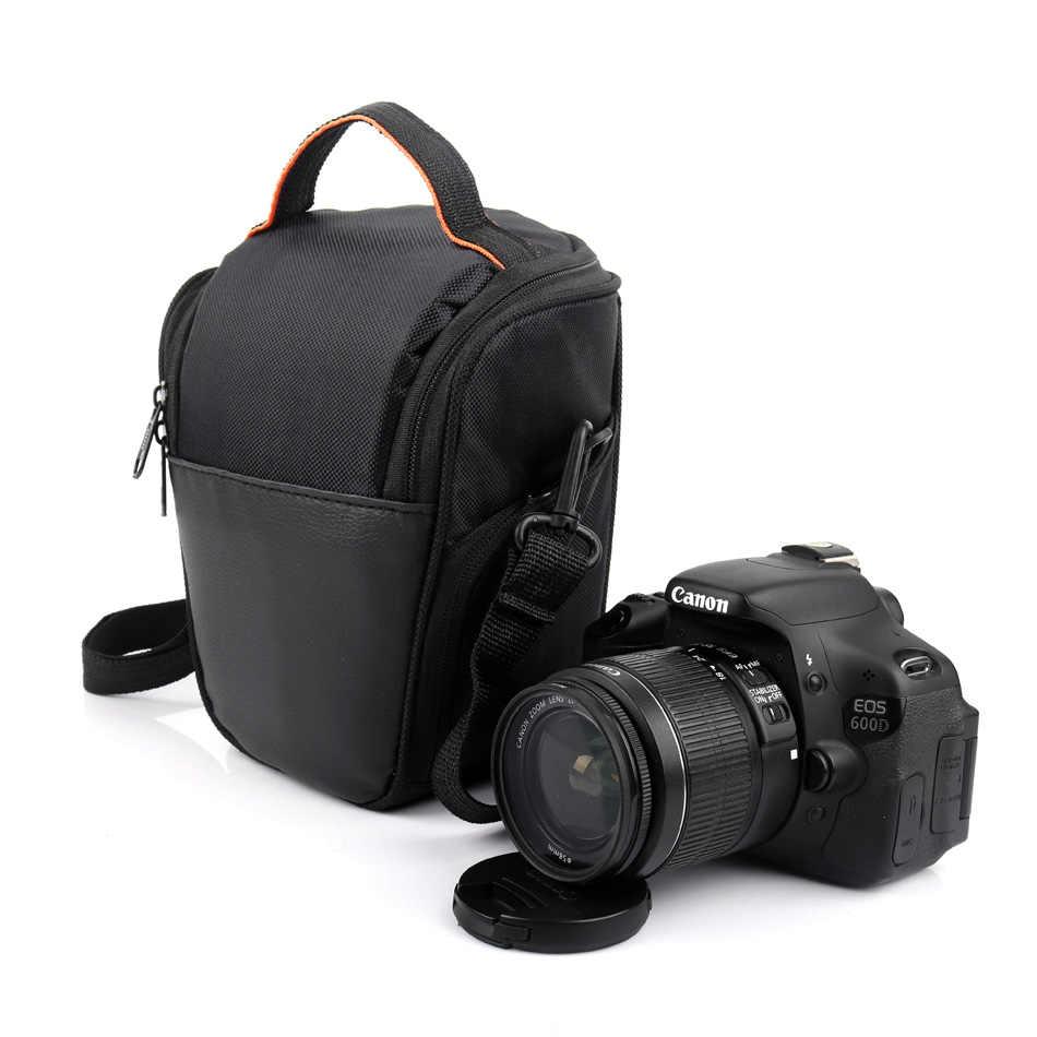 Dslr câmera saco foto caso para canon 750d 1300d 700d 200d 77d 650d t7i t6i panasonic lumix fz85 fz83 fz80 DC-FZ85 lente caso