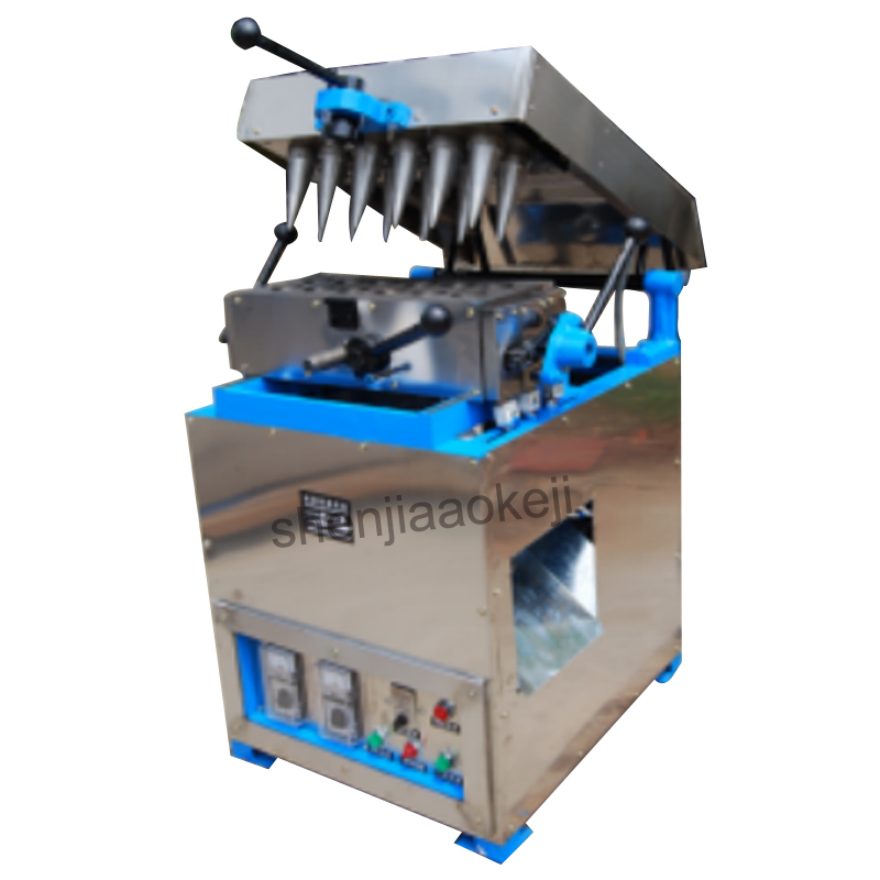 Ice Cream Egg Roller machine DST-12 Ice-cream cones machine / ice cream cone maker High quality egg tray machine 220V 1PC стоимость