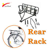 20 24 26 700C/28 29 vélo arrière Rack haute qualité Double couche vélo électrique batterie transporteur bagages Rack vélo accessoires