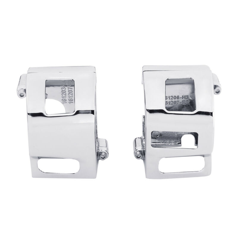 Motorcycle Switch Housings Cover For Yamaha XVS V-Star 650 Custom Chrome Accessories