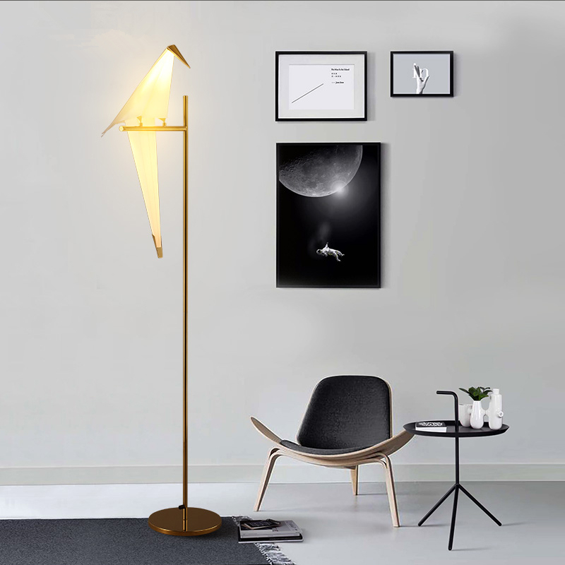 Floor Lamps Simple Industrial Metal Stand Lamp Modern Nordic Floor Lamp for Bedroom LED french garden vertical floor lamp modern ceramic crystal lamp hotel room bedroom floor lamps dining lamp simple bedside lights