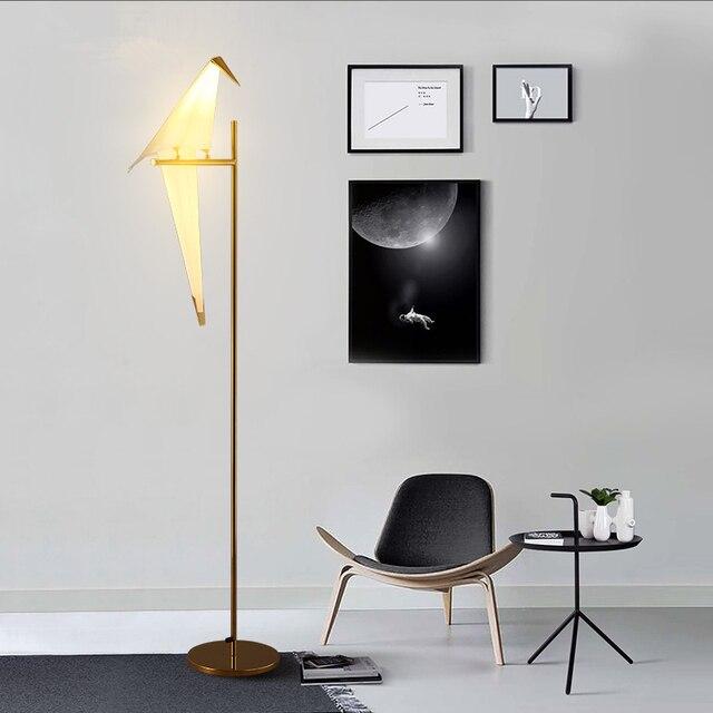 Postmodernen Led Wohnzimmer Stehend Leuchten Nordic Vogel Lichter