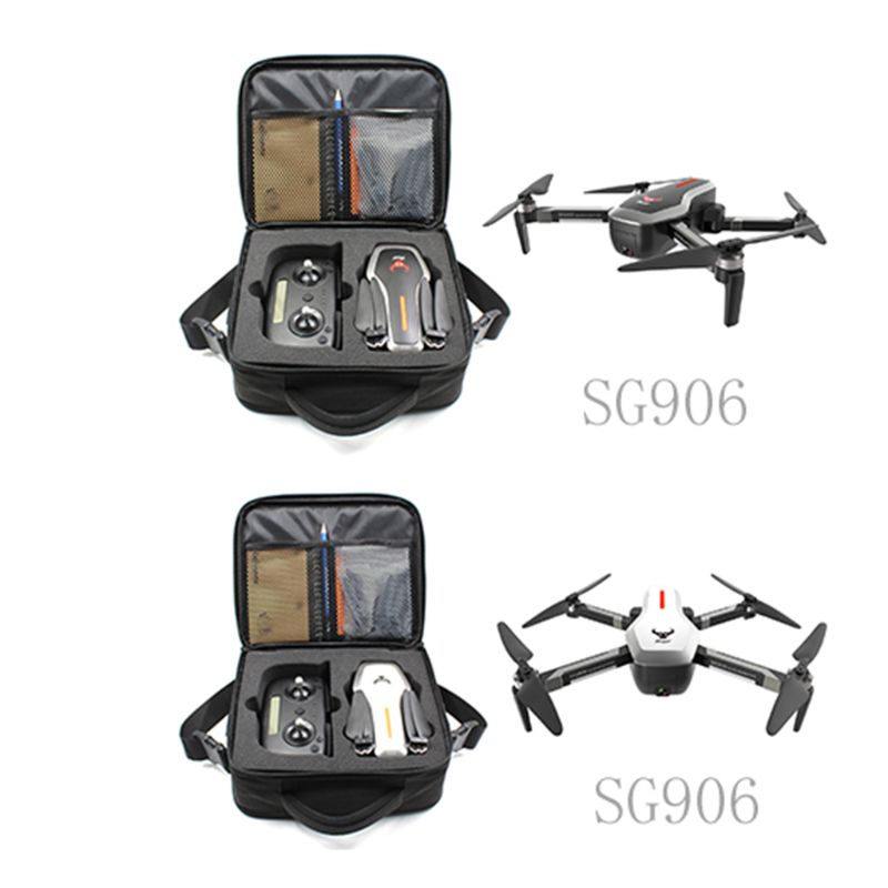 SG906 RC Drone quadrirotor 4 K Ultra clair caméra GPS 5G WIFI FPV sans brosse Selfie pliable optique positionnement de flux Hover RTF