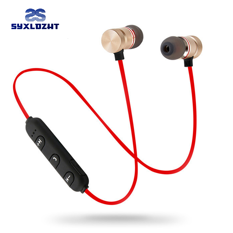 Bass Bluetooth Earphone Wireless Headphones Earphones Magnetic Stereo Bluetooth Headset Wireless earbuds With Mic for phone