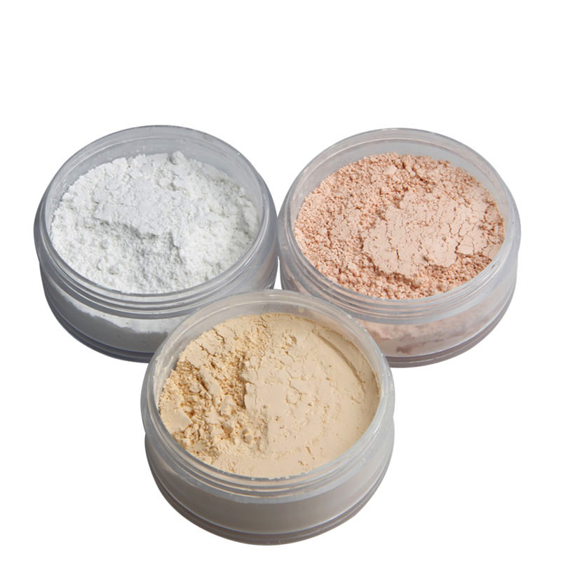 2016 New Professional Face Cosmetics Waterproof Oil-control Minerals White Makeup Contour Translucent Loose Powder Palette image