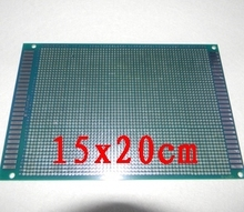 98-24 free shipping 1pcs 15x20cm  single Side Prototype PCB Universal Printed Circuit Board