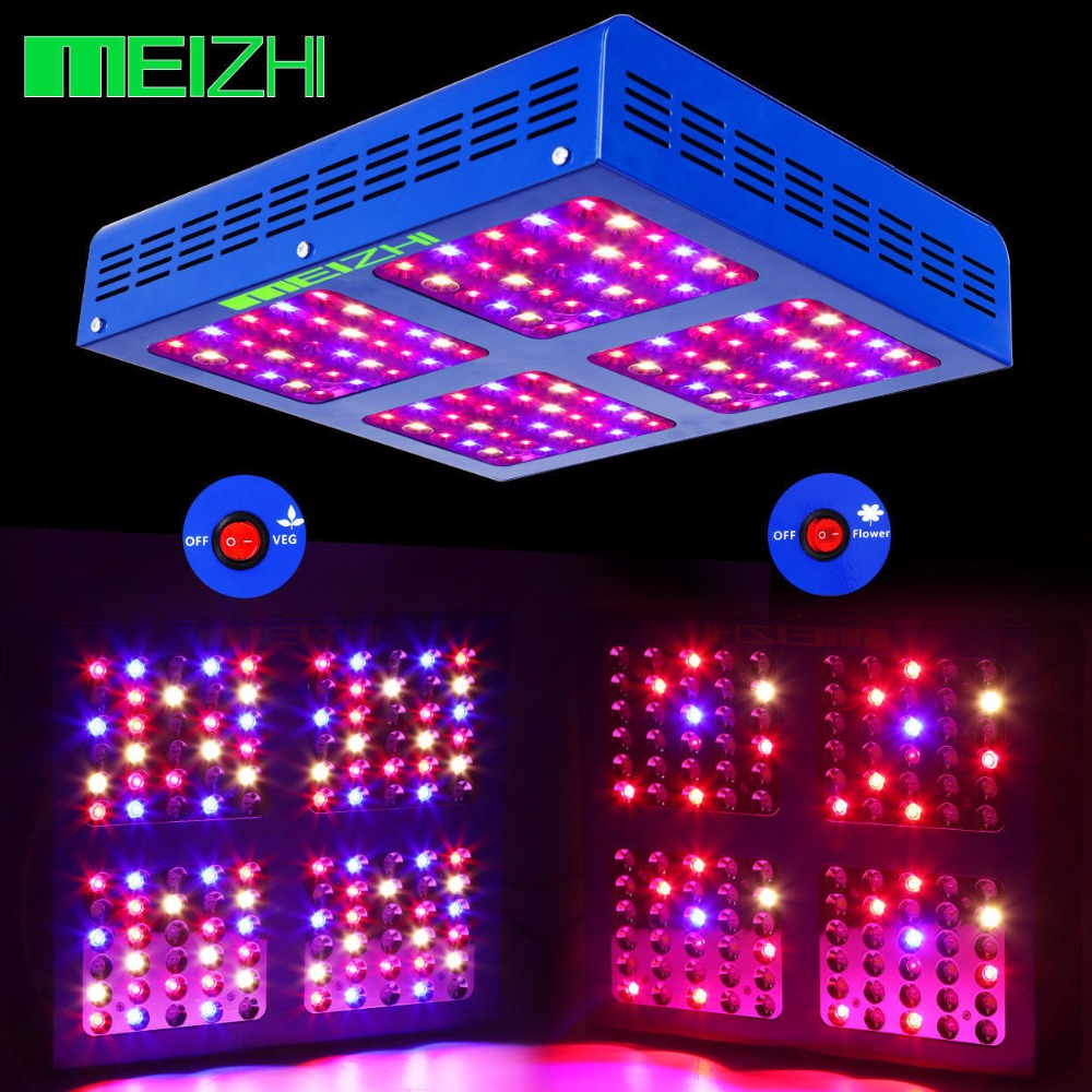 Meizhi Reflector 600w Led Grow Light Review Shelly Lighting