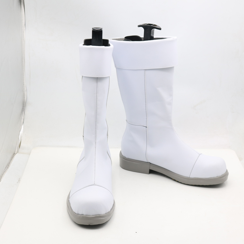 My Hero Academia Todoroki Shoto White Anime Cosplay Shoes Boots Superhero Halloween Carnival Party Costume Accessory