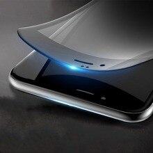 Plusme протектор экрана из закаленного стекла для iPhone 7 взрывозащищенный HD прозрачный глянцевый без отпечатков пальцев ультратонкая пленка полного покрытия