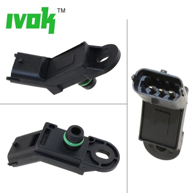 US $10 71 25% OFF|Brand New MAP Sensor Boost Pressure Sensor For Ford KA  Suzuki Ignis Splash Swift Wagon 18590N86J00 1 539 497-in Pressure Sensor  from