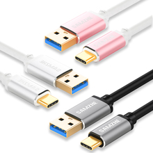 SAMZHE USB Type C Data Cable USB Type-C Cable 3.0 Magnetic USB Charging Cable 2.4A Fast Charger For Xiaomi mi5 Huawei Samsung