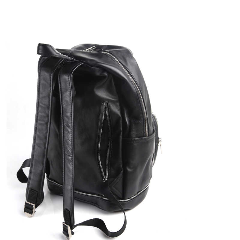 AETOO Pure leather Europe and the United States and Japan men and women fashion personality shoulder bag leather backpack street