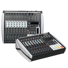 YA Sound Mixing Console Bluetooth USB Record Computer Playback 48V Phantom Power 4-12 Channels USB Audio Mixer