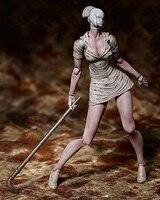 Магазин игрушек Популярные Супер фильмы и анимации вокруг игрушечные лошадки Silent Hill 2 Безликий медсестра украшения ручной работы модель по