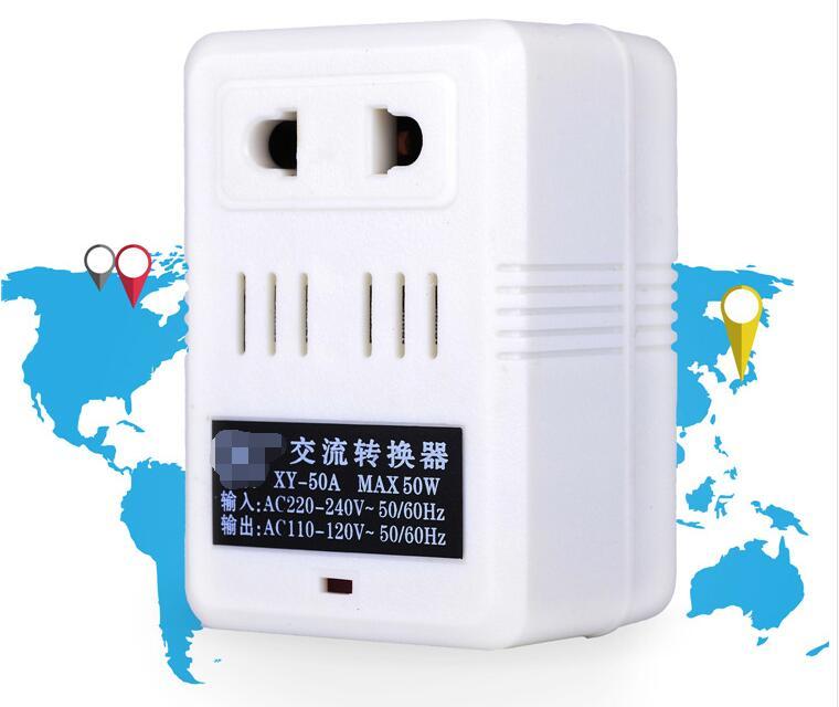 220/240V To 110/120V AC Step Down Voltage Converter Transformer Travel Adapter Switch 30W