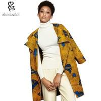 Spring Autumn 2016 Women Coat African Dresses Clothing Ankara Batik Wax Print Long Sleeve Jacket Clothes