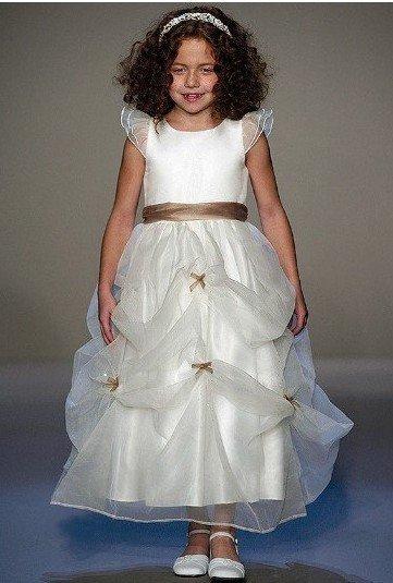 2010 New design and style Custom Made Flower girl Dresses