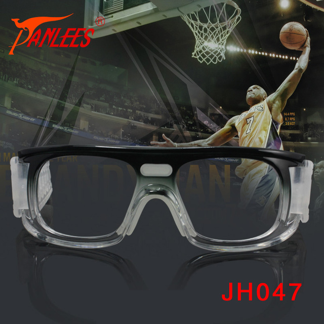 27f46e1775 Anti impacto Deportes Gafas Unisex Lente Transparente Marco de Degradado de  Color Gafas de Baloncesto con
