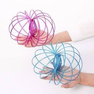 Антистрессовое кольцо, антистресс, антистресс, интерактивное 3D кольцо из нержавеющей стали