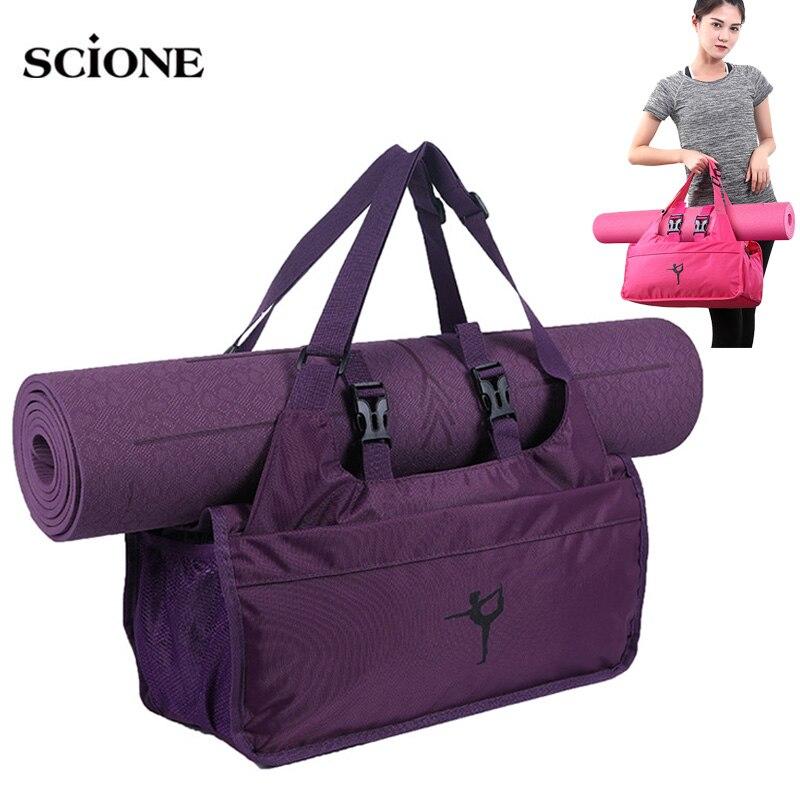 Yoga Mat Bag Gym Bags Dry Wet Fitness Bag For Women 2019 Sac De Sport Men Sports Sporttas Bolsa Deporte Mujer Tas Dancing XA67A