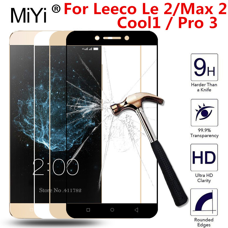 Full Cover Tempered Glass For <font><b>Leeco</b></font> Le <font><b>2</b></font> <font><b>max</b></font> <font><b>2</b></font> Pro 3 Cool1 x520 X527 x620 <font><b>x820</b></font> x829 x720 x722 Le2 5