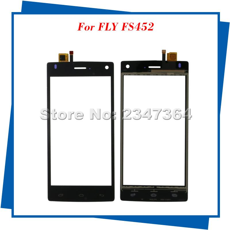 For FLY FS452 Touch Screen Original Black color Mobile Phone Touch Panel