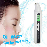 Hot Sale Portable Skin Facial Face Moisture Analyzer Digital Monitor Tester Skin Care Tool White High