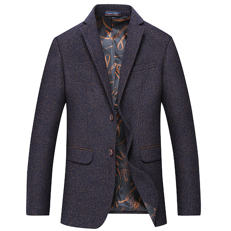 2019 New Arrival Men s Business Suits High Quality Fashion Single Breasted Woolen Blazer Men Business
