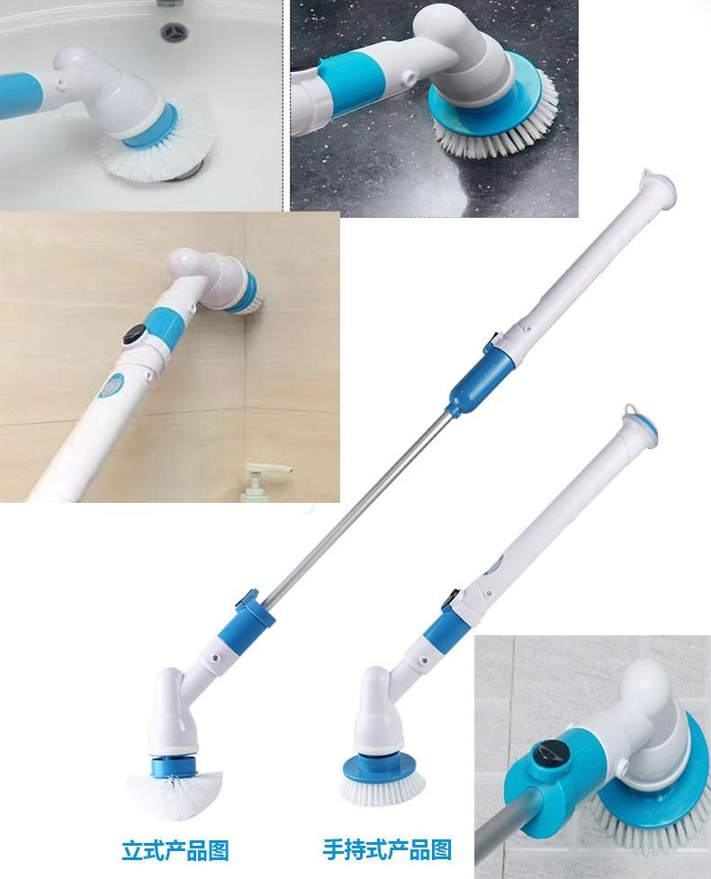 Спин Turbo Скраб Щетка для ванны мощность для очистки ванн плитки пол очиститель кисточки Mop скрабы чистый